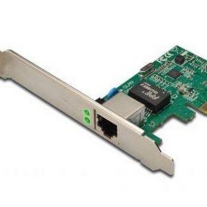 SCHEDA DI RETE 1000MBIT PCI-EXPRESS CON STAFFA (DN10130)