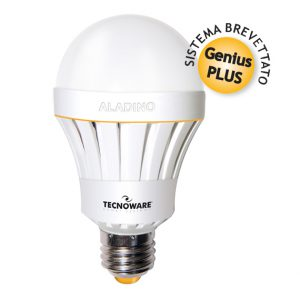 LAMPADA ALADINO LED LAMP E27 10W WARM 3000K (FLED17322)