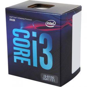 CPU CORE I3-8100 1151 BOX