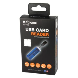 LETTORE MULTICARD ESTERNO USB 2.0 (30792)