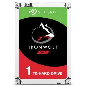 "HARD DISK 1 TB IRONWOLF SATA 3 3.5"""" NAS (ST1000VN002)"