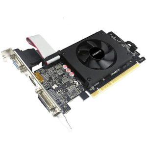 SCHEDA VIDEO GEFORCE GT710 2 GB PCI-E LP (GV-N710D5-2GI)