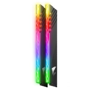 MEMORIA DDR4 16 GB AORUS RGB PC3600 MHZ (2X8) (GP-AR36C18S8K2HU416R)