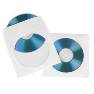 BUSTINA CD/DVD 25 PZ.