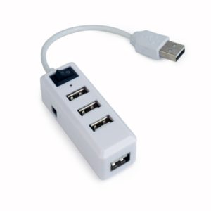 HUB 4 PORTE USB UHB-U2P4-21 BIANCO
